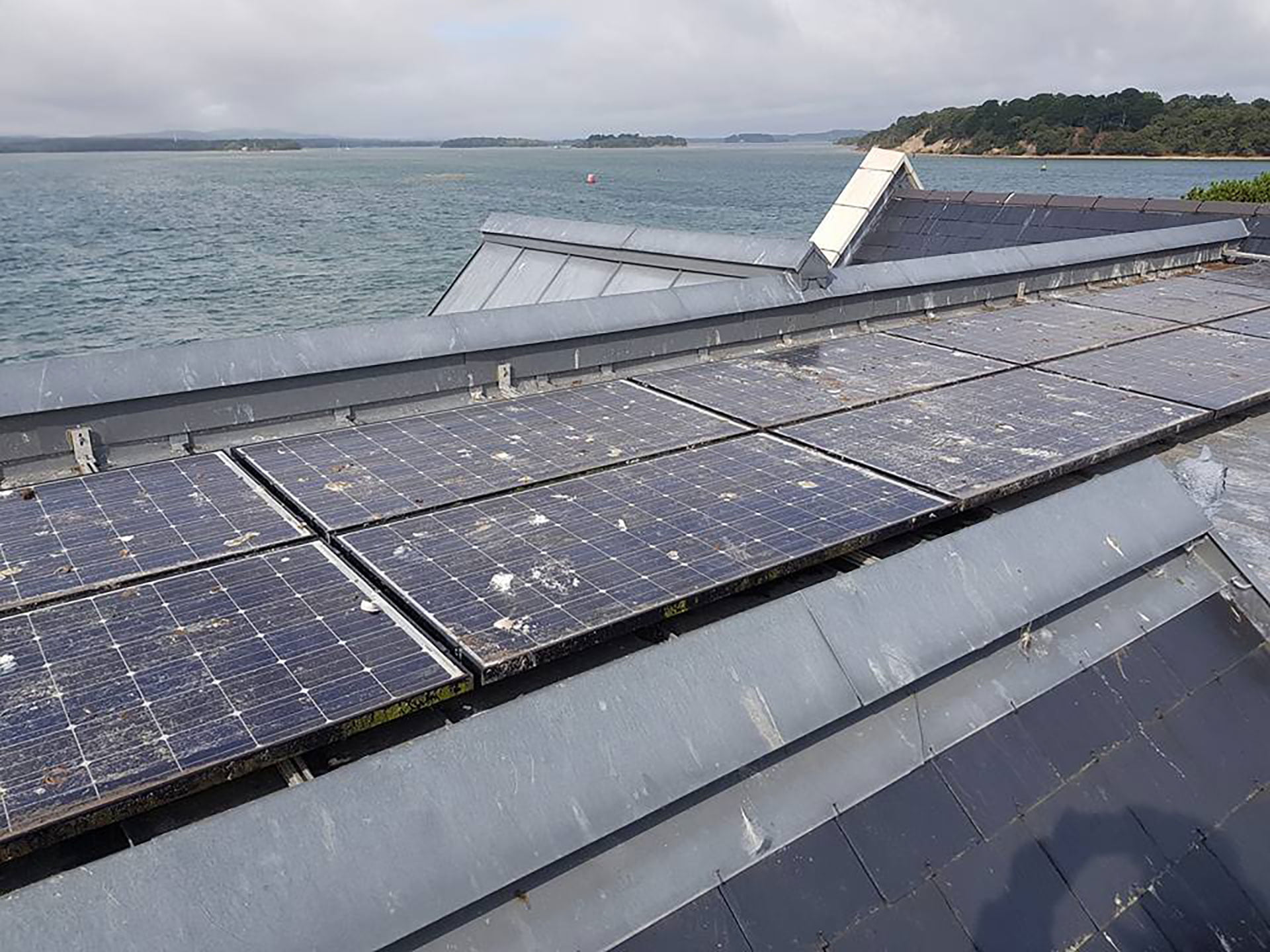 Solar panel clean Sandbanks